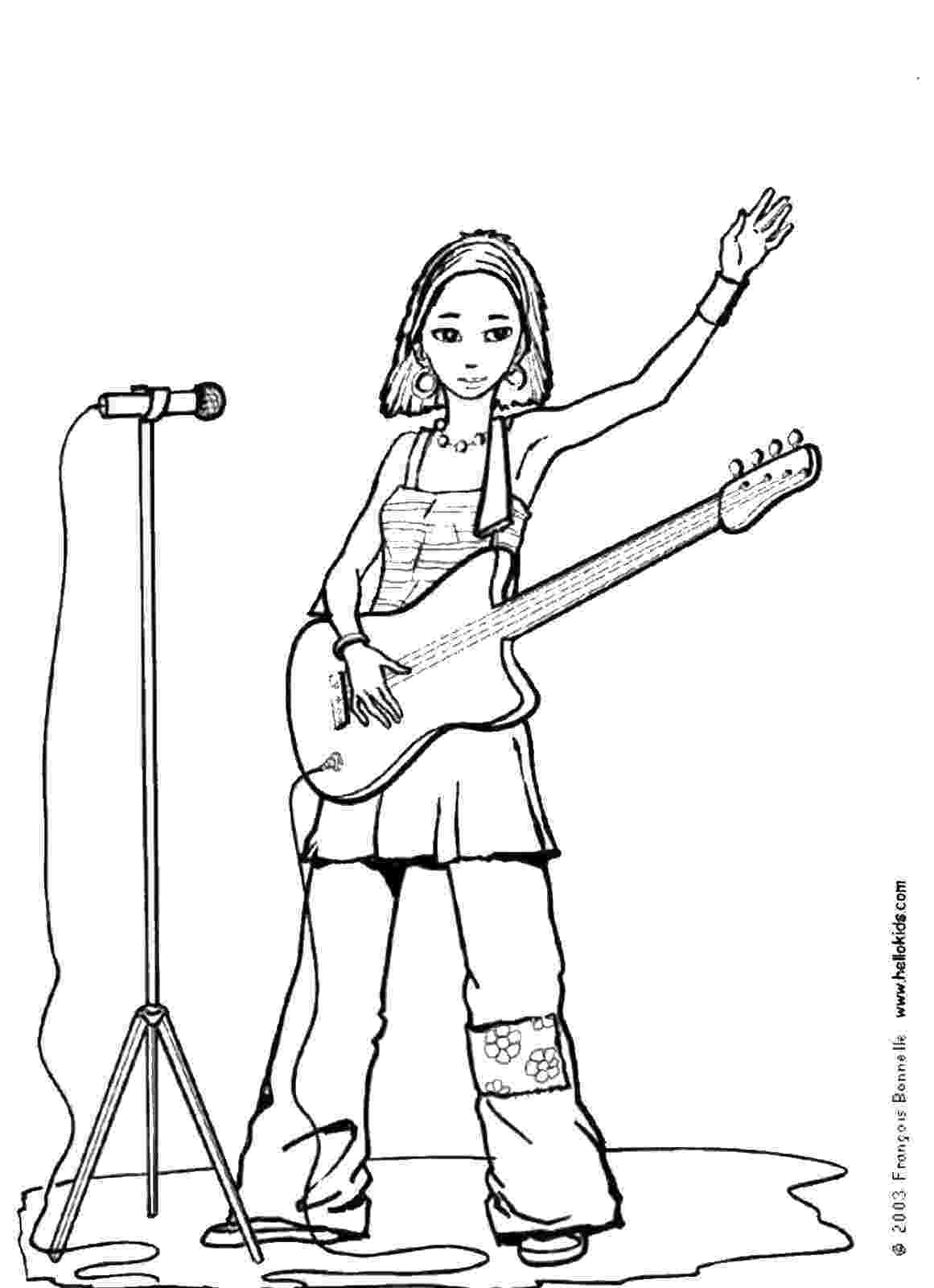 rock star coloring pages rock star coloring pages star coloring pages rock
