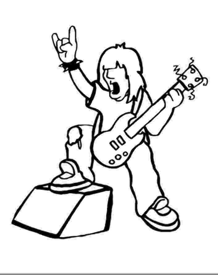 rock star coloring pages rock star coloring pages star rock pages coloring