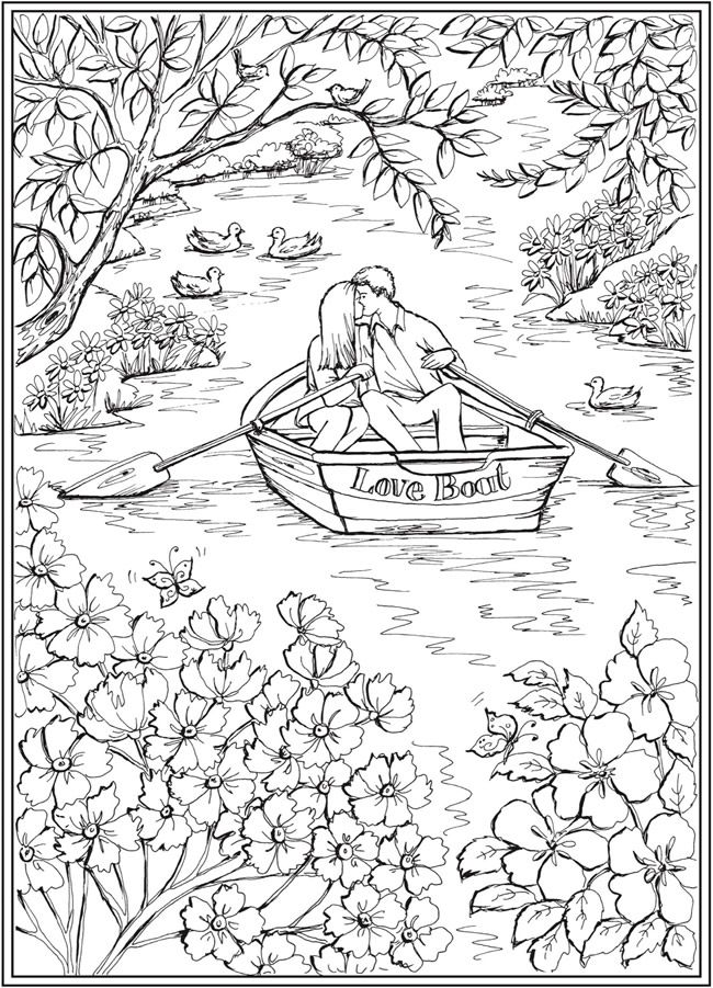 romantic country coloring book 96 pages fantasy coloring book romantic country quotcocot romantic book coloring country