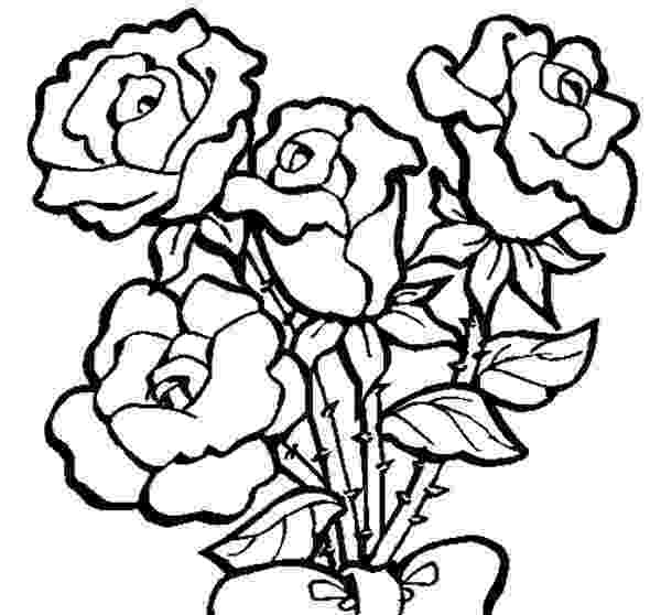 roses color pages rose colouring page roses color pages