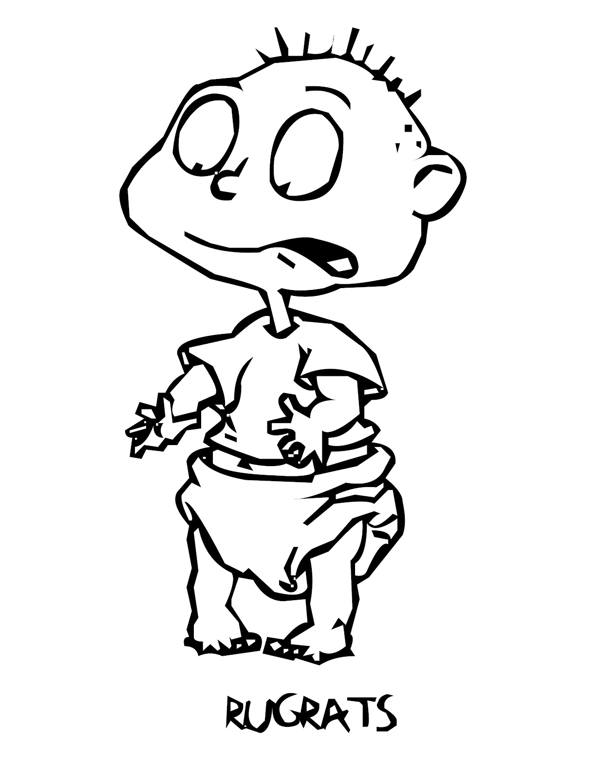 rugrats coloring pages to print free printable rugrats coloring pages for kids print rugrats coloring pages to