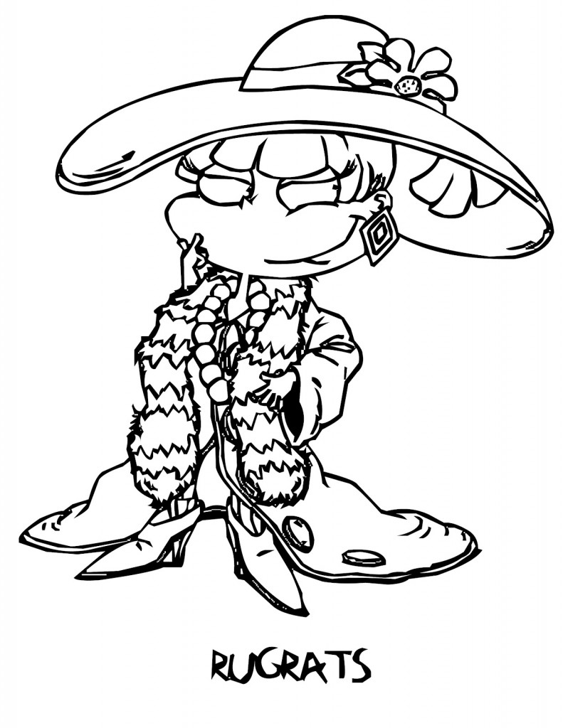 rugrats coloring pages to print free printable rugrats coloring pages for kids rugrats pages print to coloring