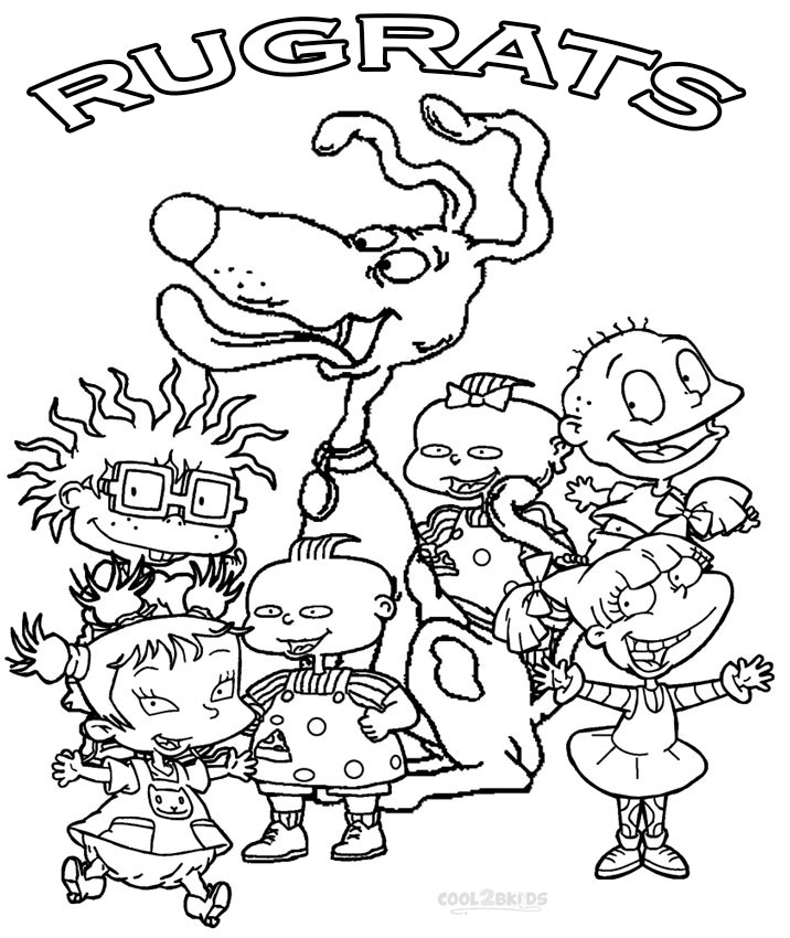 rugrats coloring pages to print free printable rugrats coloring pages for kids to coloring pages print rugrats
