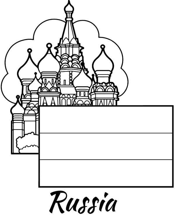 russian flag coloring page colouring book of flags asia flag russian coloring page