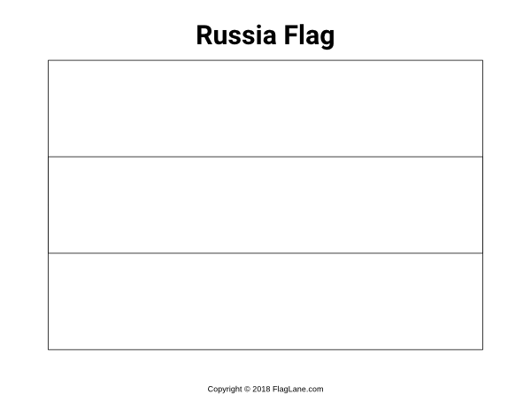 russian flag coloring page free russia flag coloring page flag russian coloring page