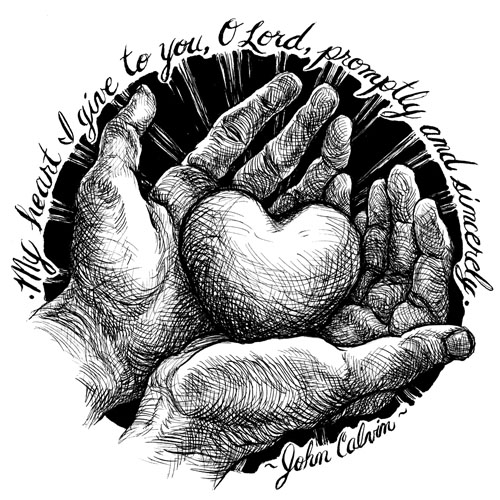 s in a heart calvin39s motto s a in heart