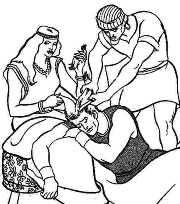 samson and delilah coloring pages samson and delilah by fadinginthedark on deviantart and delilah samson coloring pages