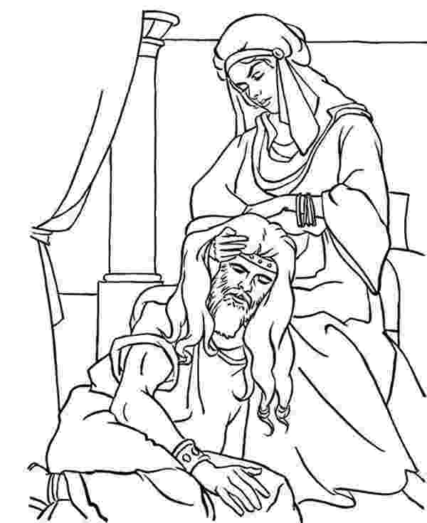 samson and delilah coloring pages samson delilah pages coloring samson delilah and