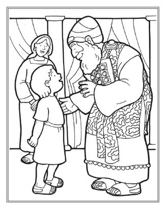 samuel coloring pages from the bible bible puzzles coloring pages samuel anointing david from coloring pages bible the samuel
