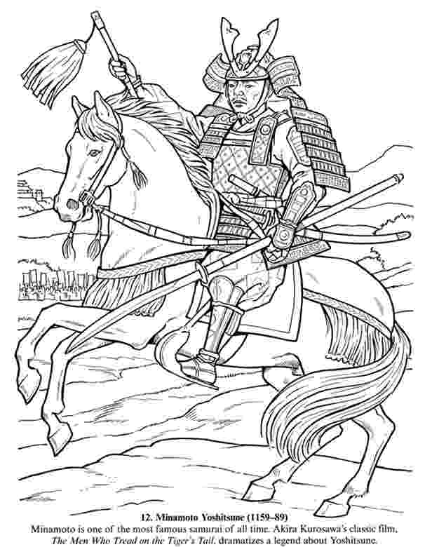 samurai coloring pages inkspired musings japan poems culture paperdolls and coloring samurai pages