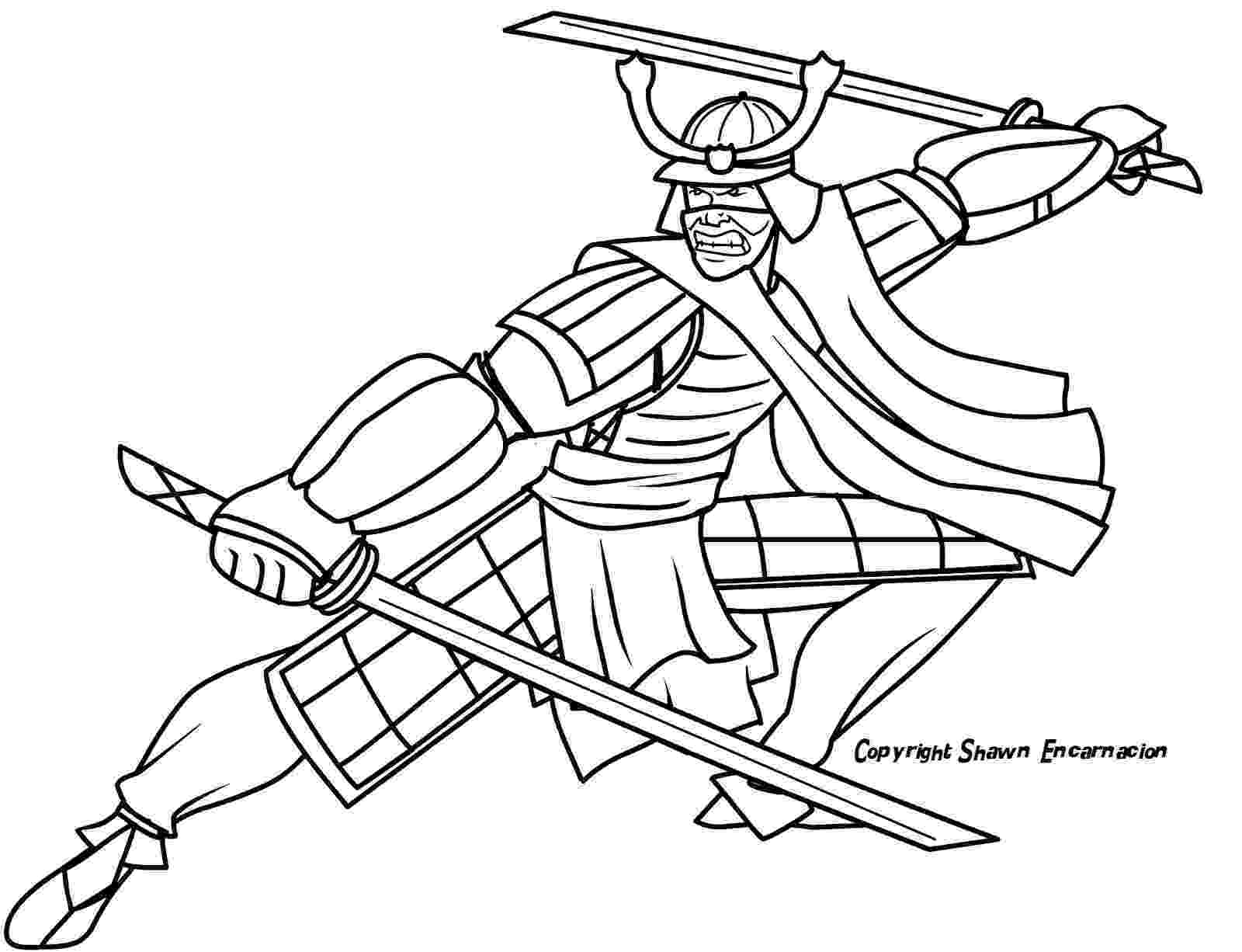 samurai coloring pages inkspired musings japan poems culture paperdolls and coloring samurai pages 1 1