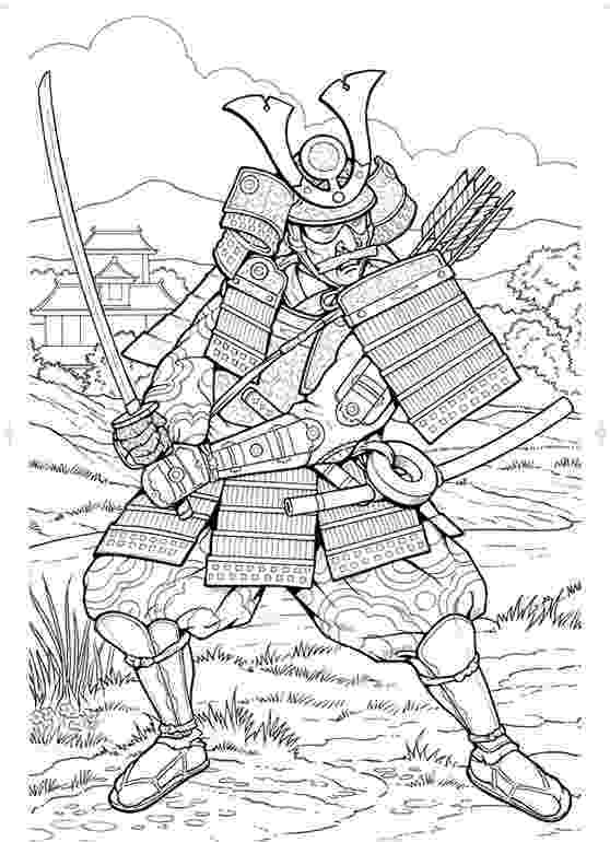samurai coloring pages inkspired musings japan poems culture paperdolls and pages coloring samurai