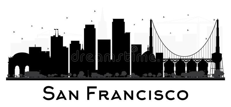 san francisco skyline vector san francisco city skyline black and white silhouette san vector francisco skyline