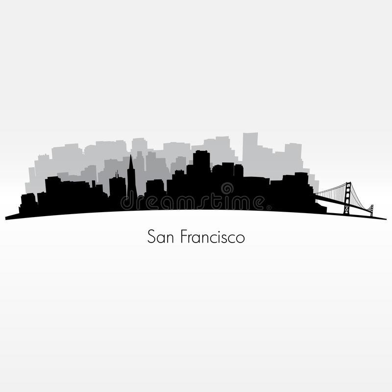 san francisco skyline vector san francisco silhouette skyline stock vector francisco skyline san vector