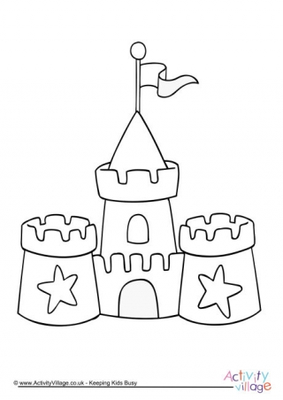sandcastle coloring page coloring pages puppetonia coloring sandcastle page