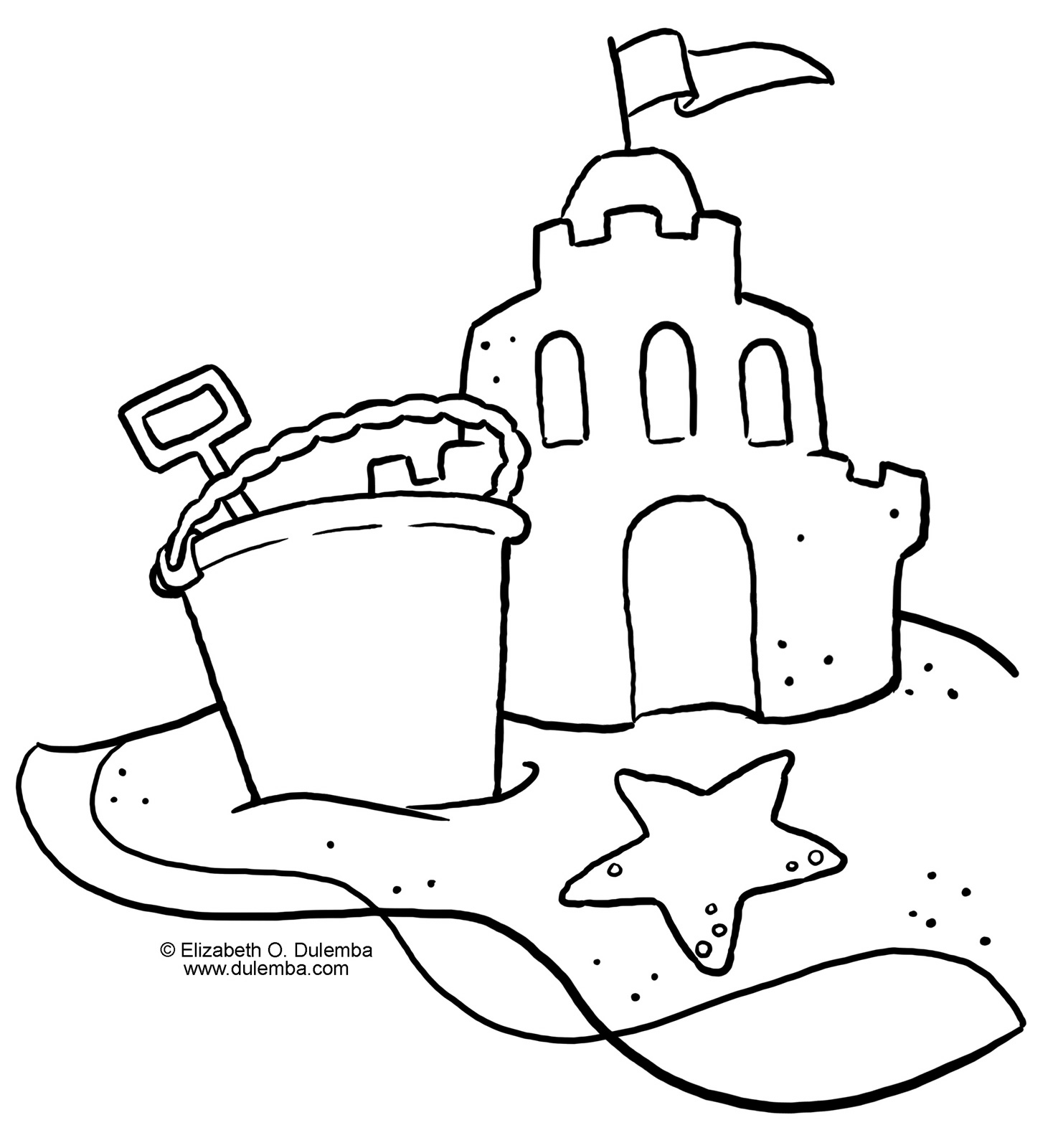sandcastle coloring page sandcastle coloring pages coloring pages to download and sandcastle page coloring
