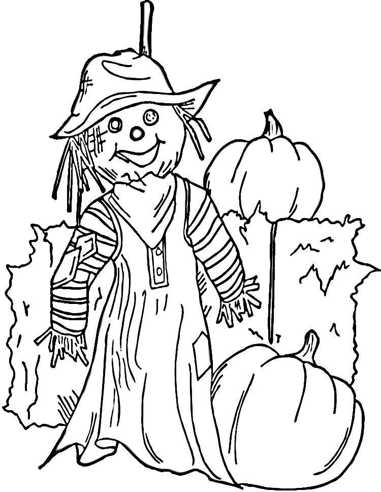 scarecrow coloring sheet scarecrow coloring pages getcoloringpagescom sheet scarecrow coloring