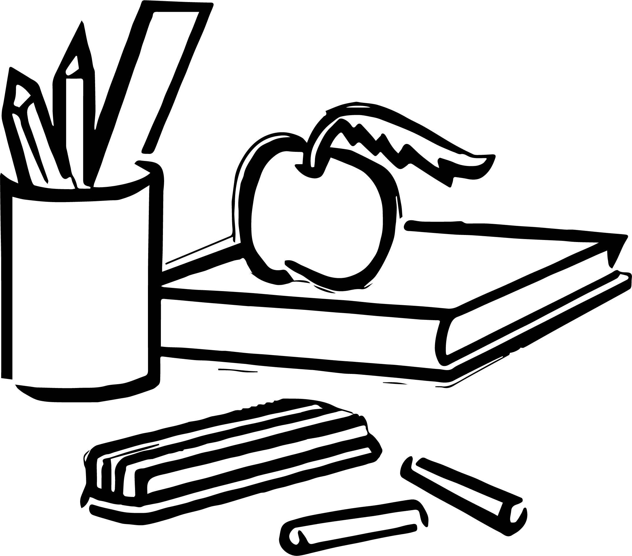 school objects coloring pages any misc school objects coloring page wecoloringpagecom school objects coloring pages