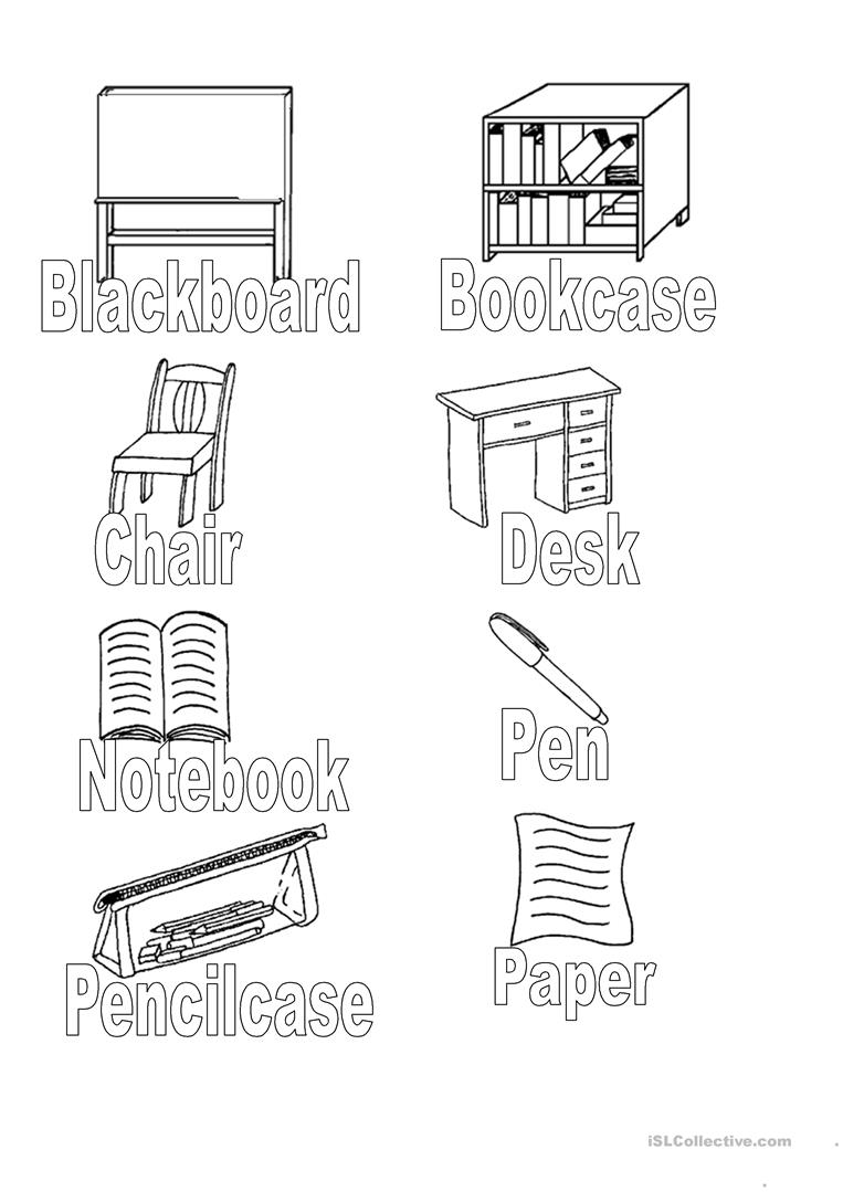 school objects coloring pages classroom objects coloring pages sketch coloring page school objects coloring pages
