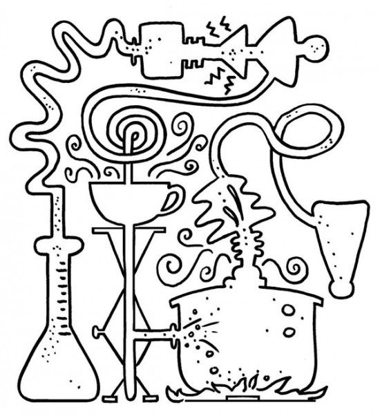 science coloring page science coloring page getcoloringpagescom coloring page science