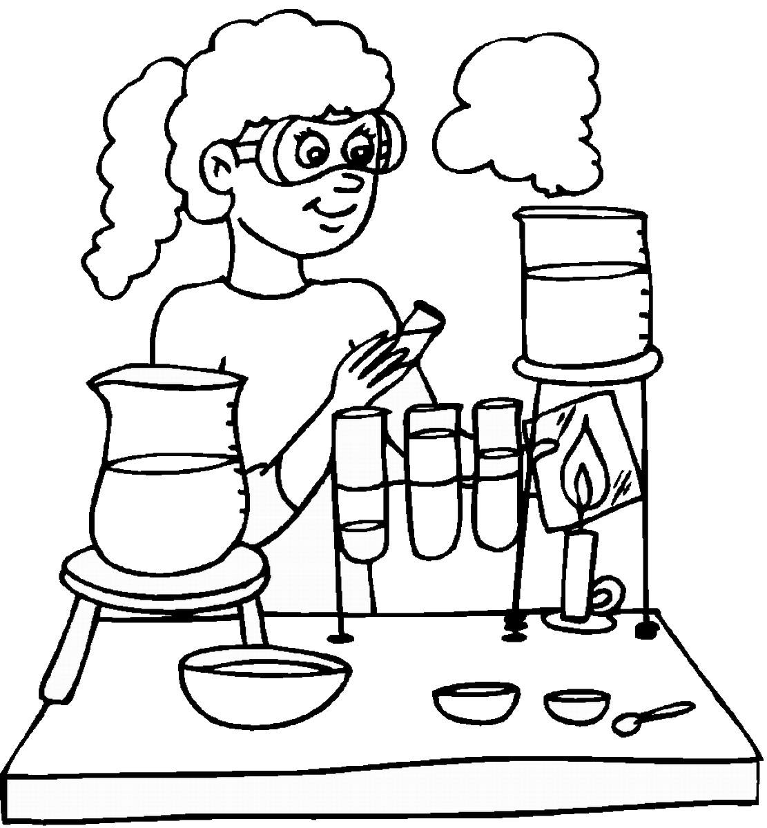 science coloring page science coloring pages coloring science page