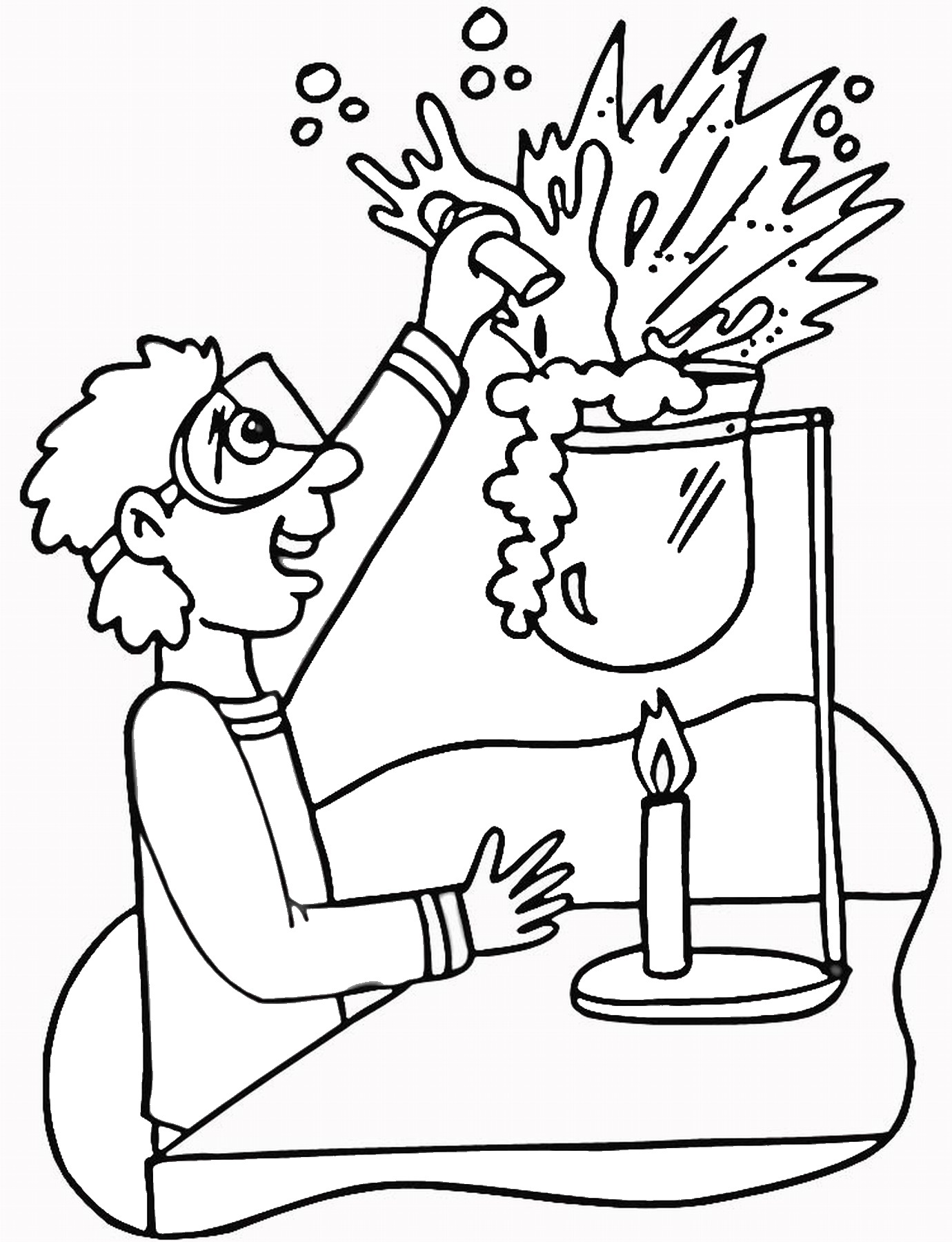 science printable coloring pages scientists kids environment kids health national science coloring pages printable