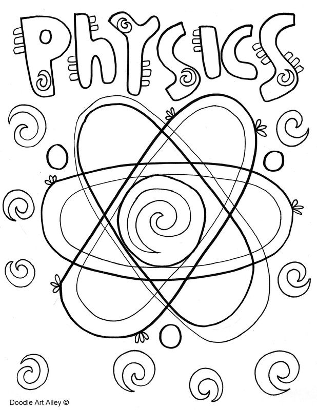 science themed coloring pages free science themed coloring pages featuring simple black science themed pages coloring