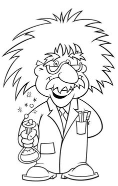 science themed coloring pages mad scientist coloring page science pinterest mad science themed coloring pages