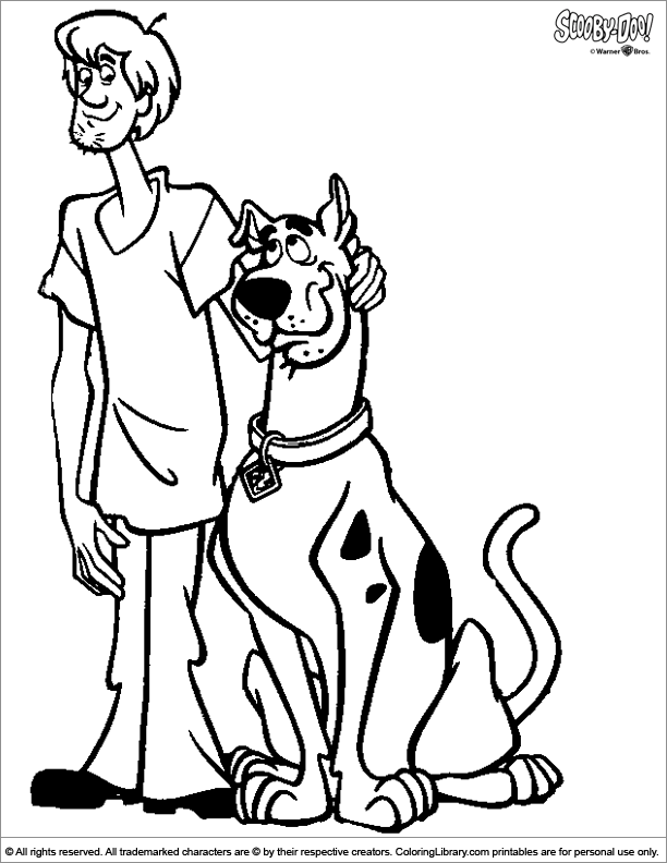 scooby doo printable pictures to color scooby doo valentines coloring pages printable pictures color to doo scooby