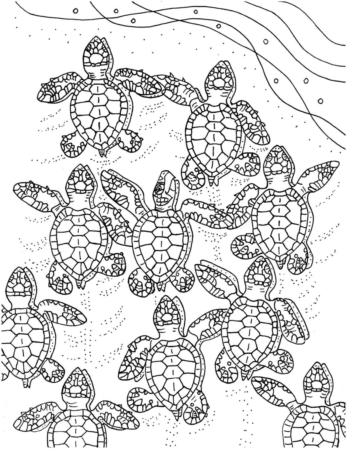 sea turtle coloring page sea turtle coloring pages getcoloringpagescom page coloring sea turtle
