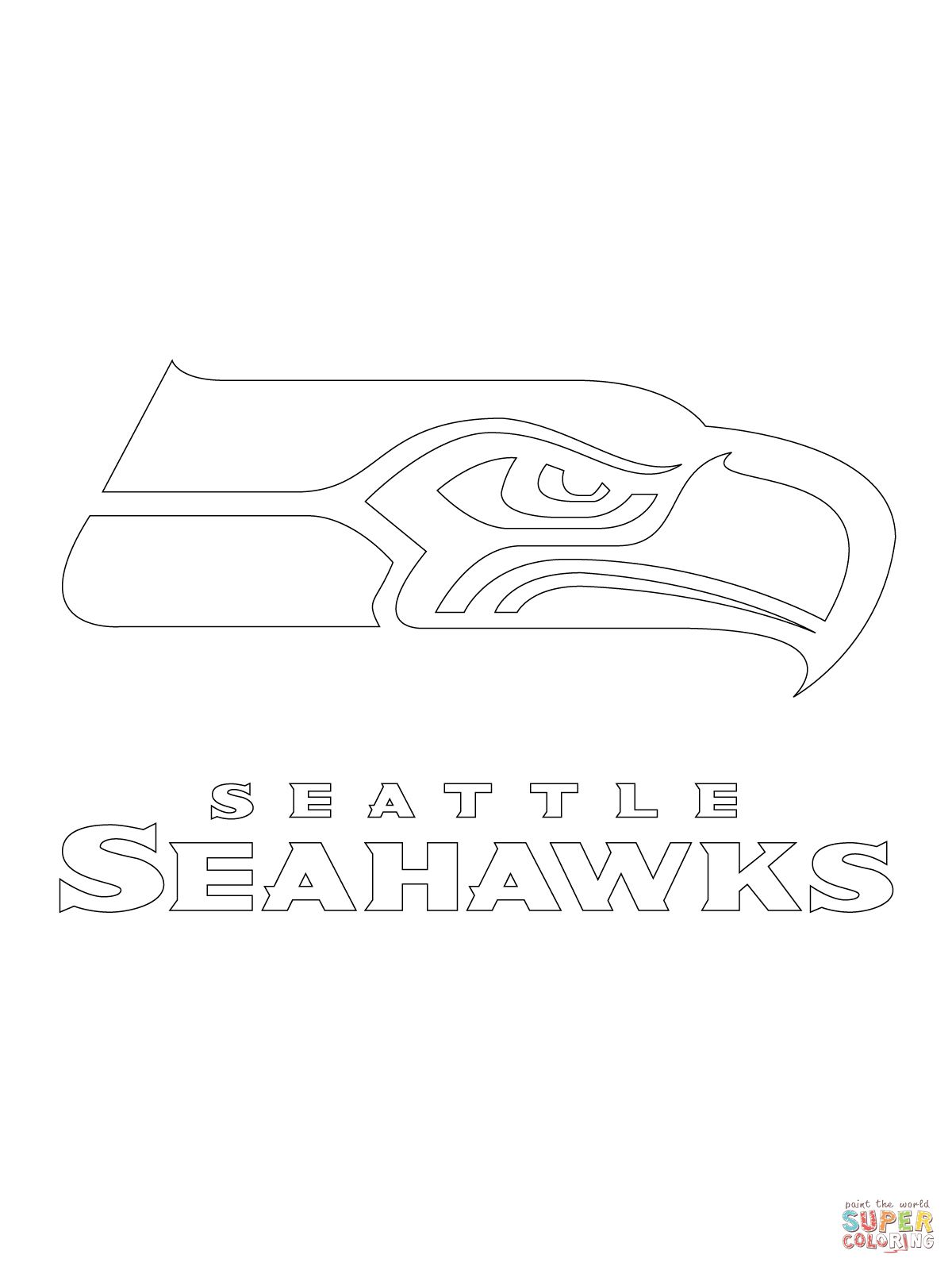 seahawks coloring page nfl coloring pages seahawks page coloring
