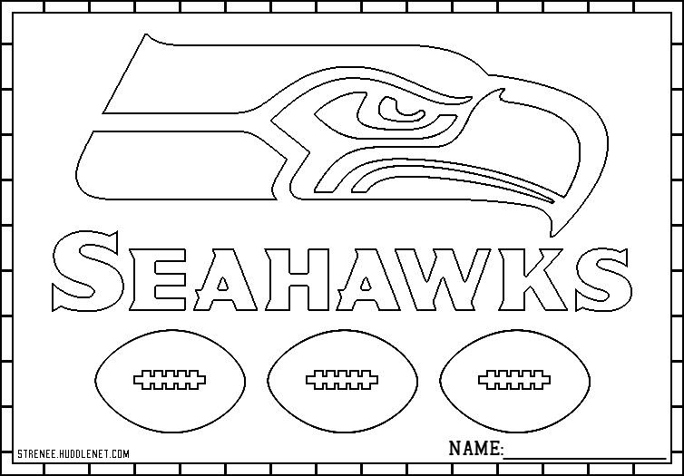 seahawks coloring page seatle seahawks coloring pages learny kids coloring page seahawks
