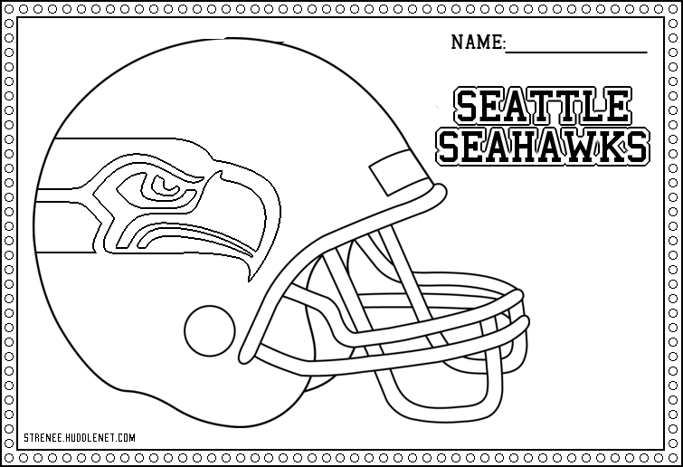 seahawks coloring page seatle seahawks coloring pages learny kids coloring page seahawks 1 1