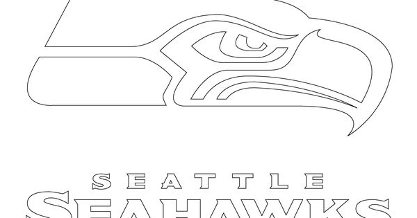 seahawks coloring page seattle seahawks logo printable printabletemplates page coloring seahawks