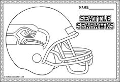 seattle seahawks helmet coloring page seahawks logo drawing at getdrawingscom free for coloring seattle page seahawks helmet