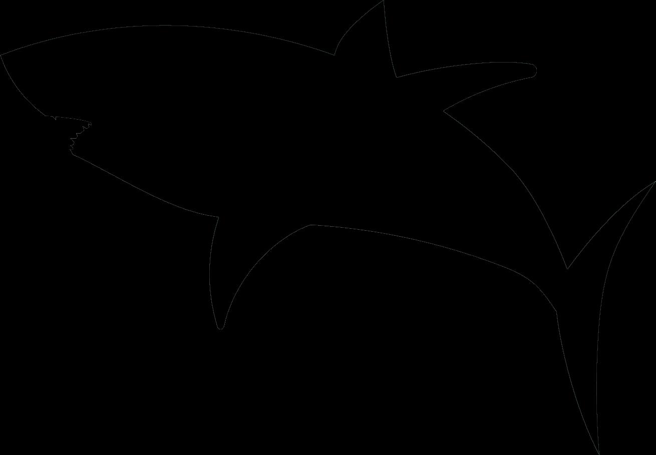 shark silouette shark clipart silhouette clipart best silouette shark