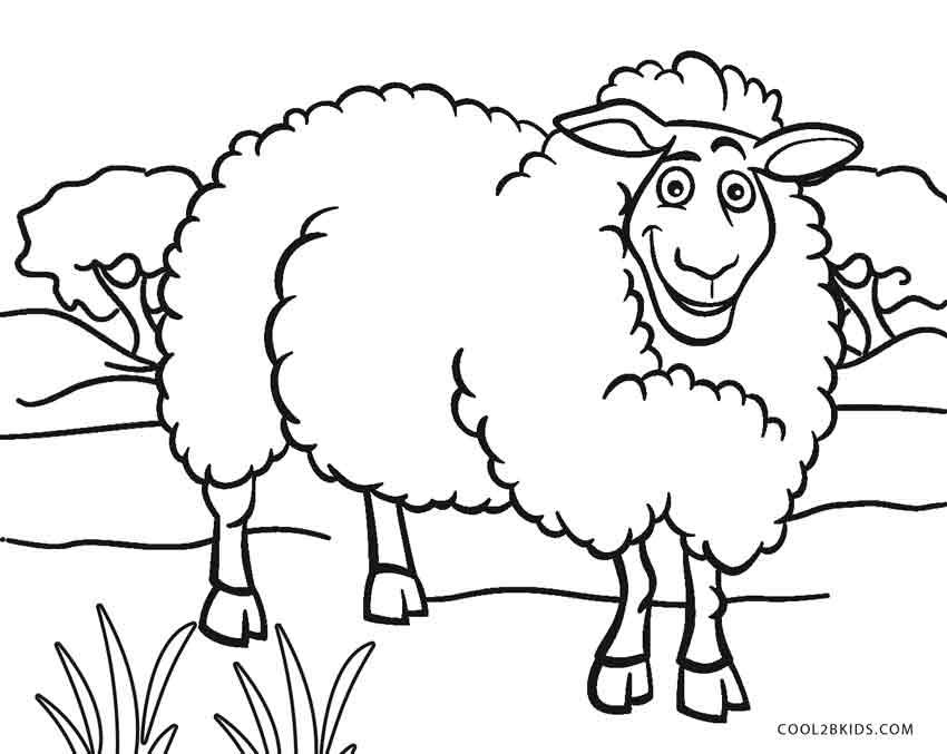 sheep coloring pages to print lamb coloring pages getcoloringpagescom to coloring pages sheep print