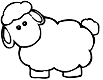 sheep pictures to color baby animals coloring pages to kids sheep color pictures to