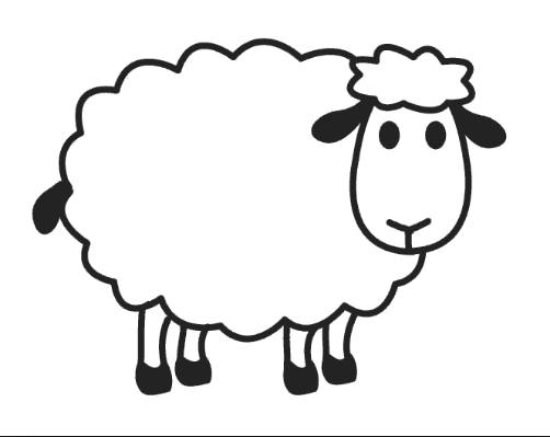sheep pictures to color sheep coloring pages for preschool free coloring page for to pictures sheep color