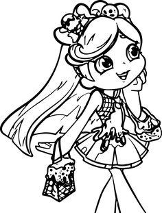 shopkin pictures that you can print print shopkins girl shoppie say hi coloring pages sew shopkin pictures can you that print