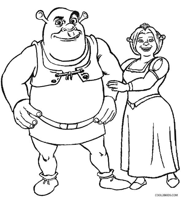 shrek coloring pages shrek coloring pages collection shrek coloring pages