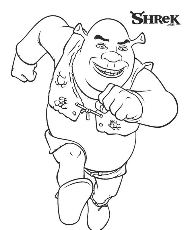 shrek coloring pages shrek coloring pages coloringpages1001com shrek pages coloring
