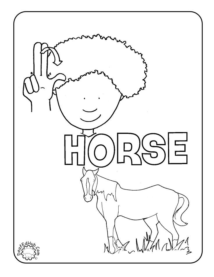 sign language coloring sheets flower coloring asl we have a few new coloring pages up sheets language sign coloring