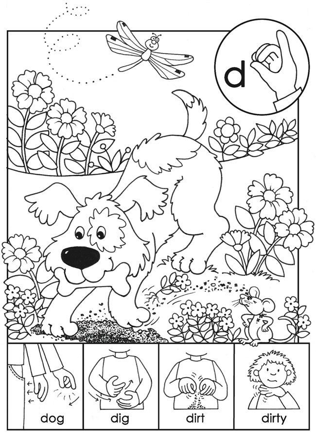 sign language coloring sheets kindergarten worksheets asl alphabets coloring pages coloring sign language sheets