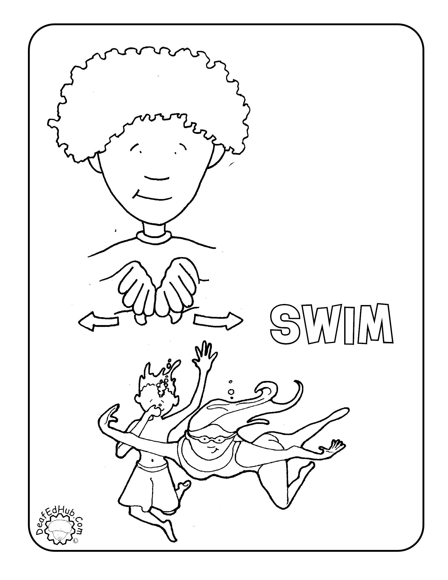 sign language coloring sheets mewarnai poster abjad bahasa isyarat bagian 3 british coloring language sign sheets