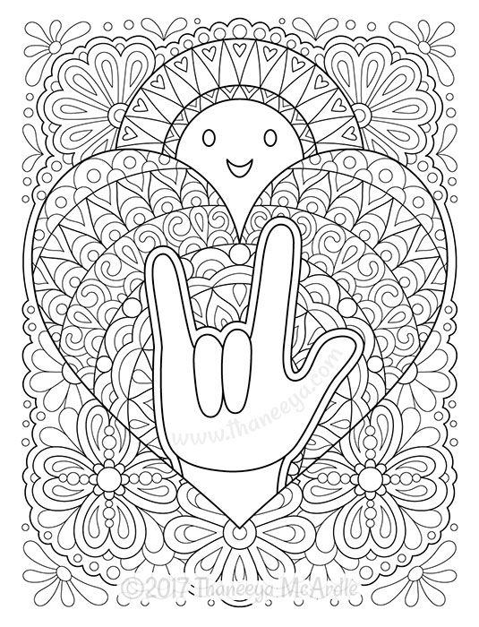 sign language coloring sheets sign language alphabet free coloring pages apple to ice language sheets coloring sign