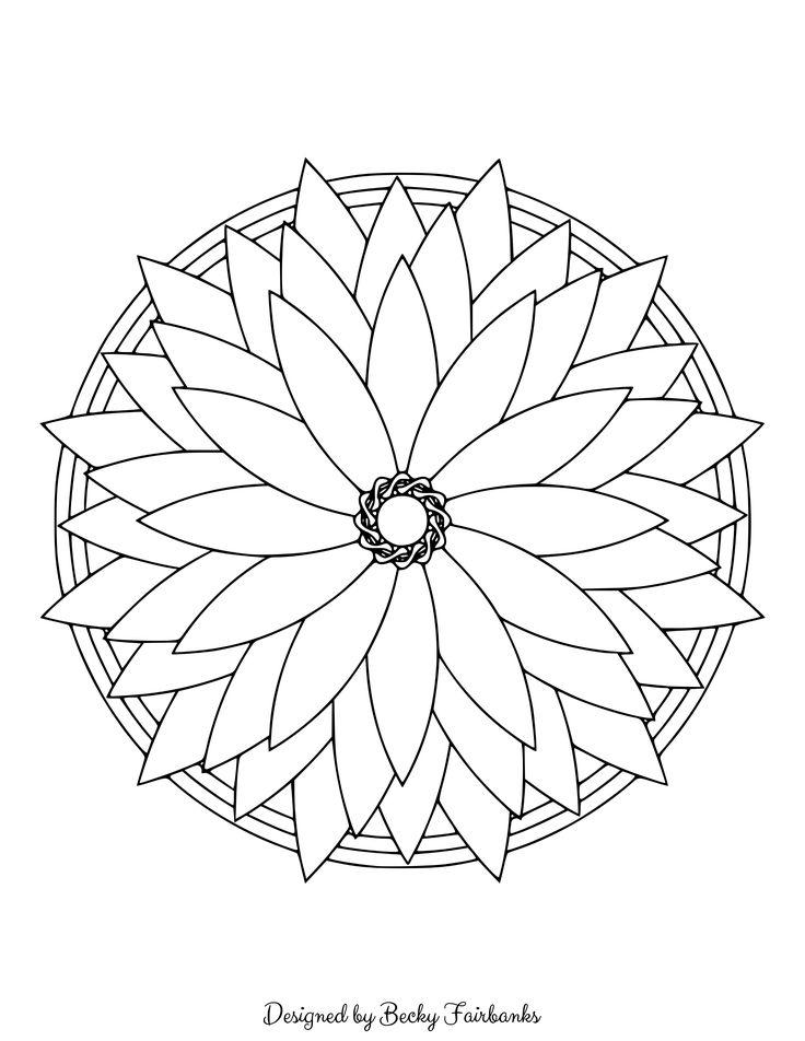 simple mandalas art therapy directive torn paper art expressive social mandalas simple