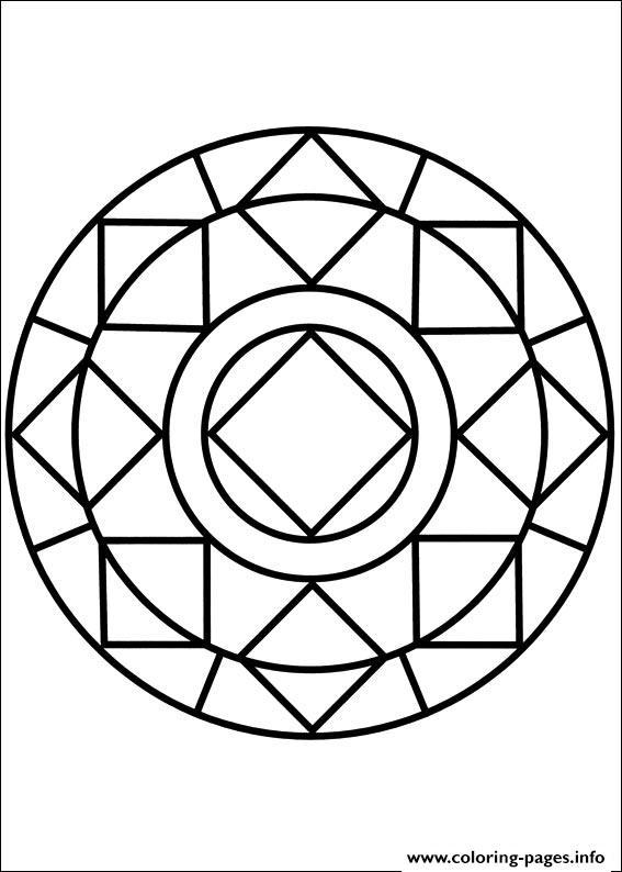 simple mandalas artful meditation for children the salty blog simple mandalas