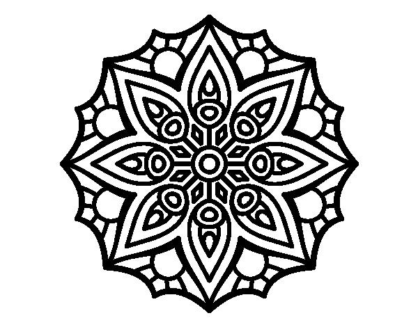 simple mandalas don39t eat the paste lattice mandala to color mandalas simple
