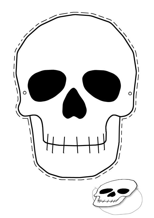 skeleton mask printable free printable skeleton masks halloween parties mask skeleton printable